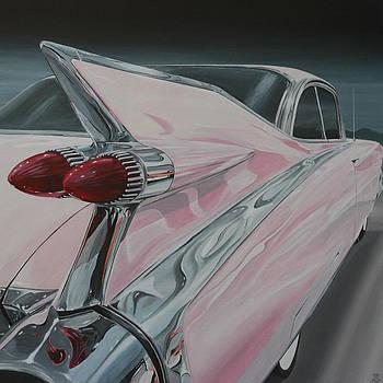 1959 Cadillac by Branden Hochstetler