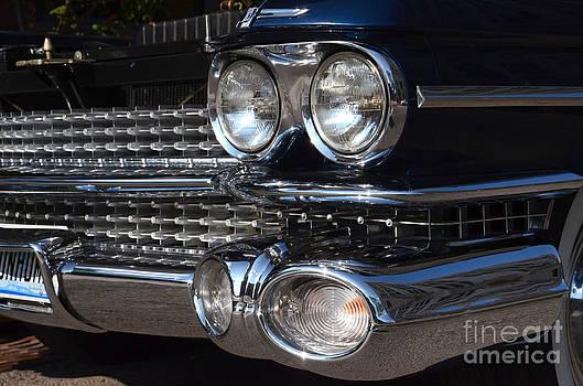 1959 Cadillac hearse by Susan Montgomery