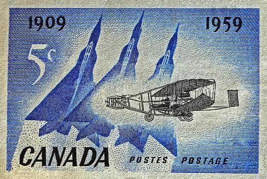 Bill Owen - 1959 Canada Silver Dart Stamp
