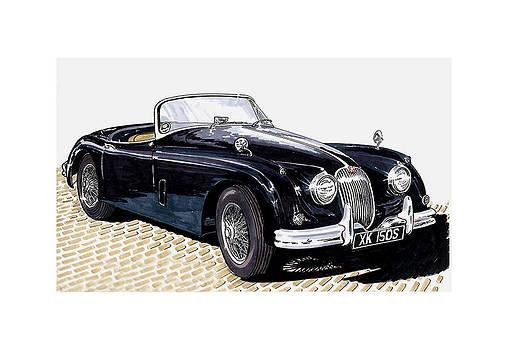 Jack Pumphrey - 1959 Jaguar XK 150 SS