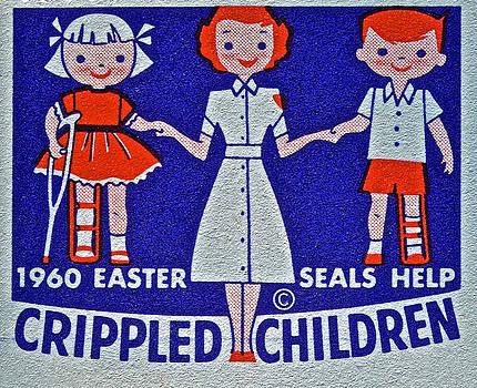 Bill Owen - 1960 Easter Seals Stamp