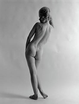 1960s Back View Of Nude Blond Woman by Vintage Images