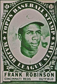 Bill Owen - 1961 Frank Robinson Topps Baseball Stamp