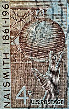 Bill Owen - 1961 Naismith Basketball Stamp