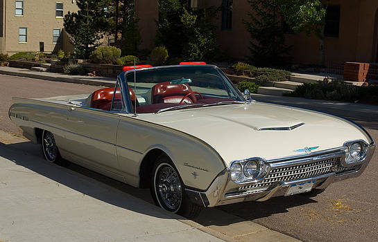 1962 Ford Sports Thunderbird Roadster by Lee Roth