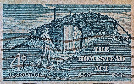 Bill Owen - 1962 Homestead Act Stamp