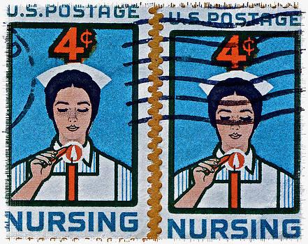 Bill Owen - 1962 Nursing Stamp Collage