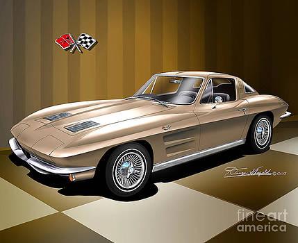 1963 Chevrolet Corvette  by Danny Whitfield