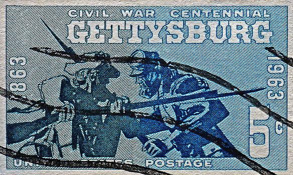 Bill Owen - 1963 Gettysburg Civil War Stamp