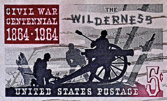 Bill Owen - 1964 Civil War Wilderness Stamp