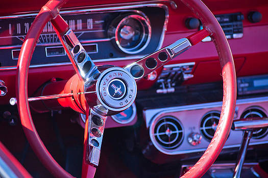 Mike Shaw - 1964 Mustang Interior