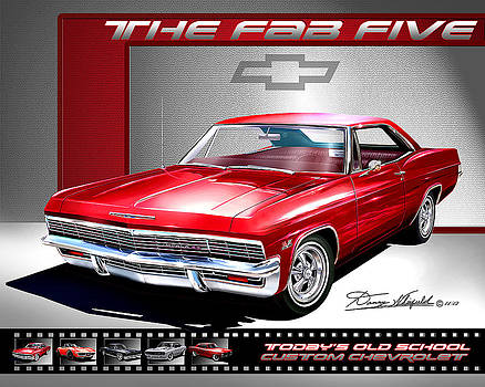1965 Chevrolet Impala SS Custom The Fab Five by Danny Whitfield