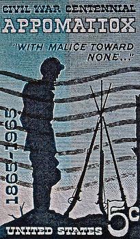 Bill Owen - 1965 Civil War Centennial Stamp