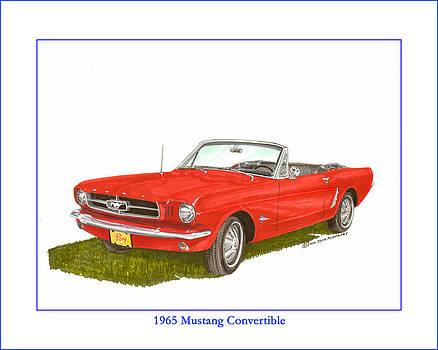 Jack Pumphrey - 1965 Ford Mustang Convertible PONY CAR