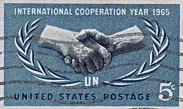 Bill Owen - 1965 International Cooperation Year Stamp