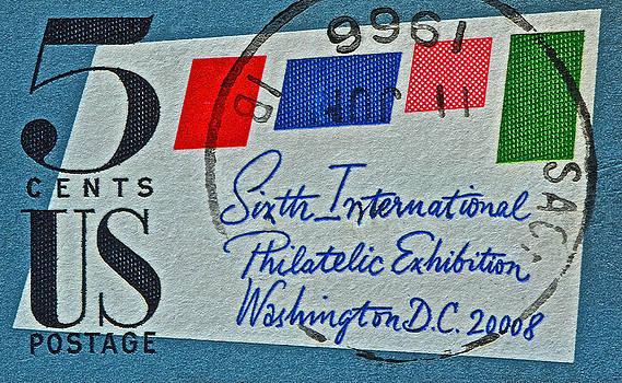 Bill Owen - 1966 International Philatelic Exhibition Stamp