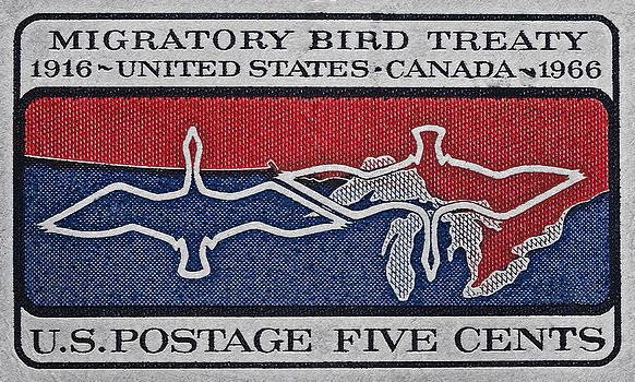 Bill Owen - 1966 Migratory Bird Treaty Stamp