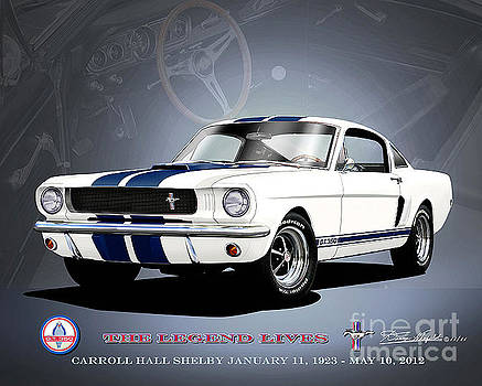 1966 Shelby Mustang GT350 by Danny Whitfield