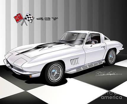 1967 Chevrolet Corvette 427 by Danny Whitfield