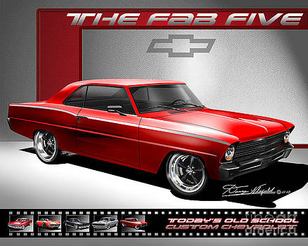 1967 Chevrolet Nova SS The Fab Five by Danny Whitfield