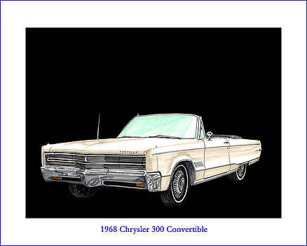 Jack Pumphrey - 1968 Chrysler 300 Convertible