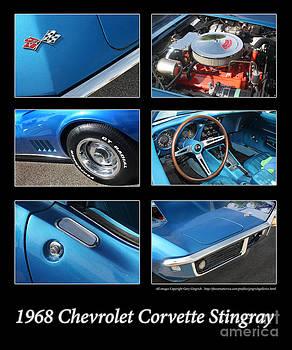 Gary Gingrich Galleries - 1968 Corvette Stringray-Blue