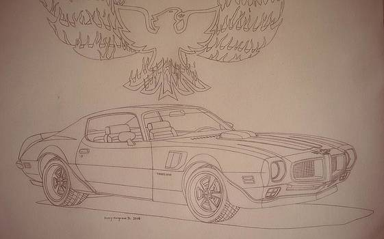 1970 1/2 Pontiac Trans Am by Henry Hargrove