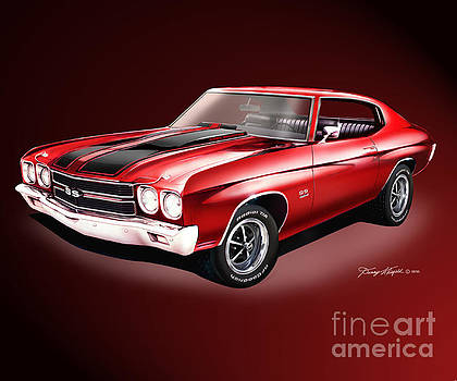 1970 Chevrolet Chevelle SS 454 by Danny Whitfield