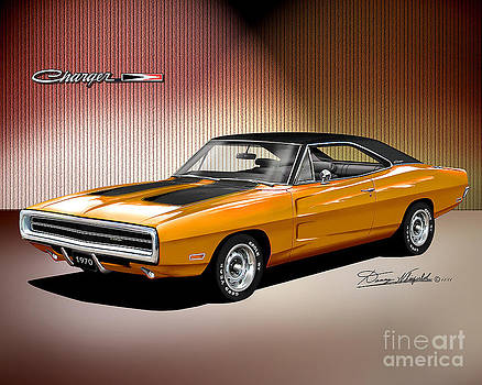 1970 Dodge Charger  by Danny Whitfield