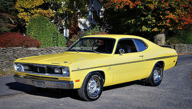Expressive Landscapes Fine Art Photography by Thom - 1970 Plymouth Duster340