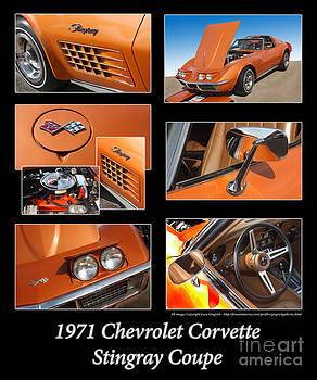 Gary Gingrich Galleries - 1971 Chevrolet Corvette Stingray Coupe-Orange