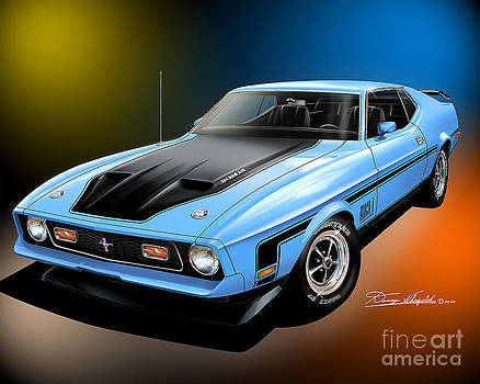 1971 Ford Mustang Mach 1 by Danny Whitfield