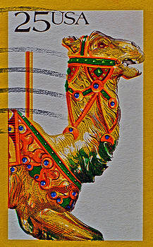Bill Owen - 1988 Carousel Camel Stamp