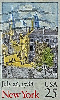 Bill Owen - 1988 New York Stamp
