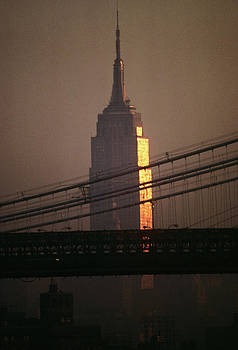 1990s Empire State Building by Vintage Images