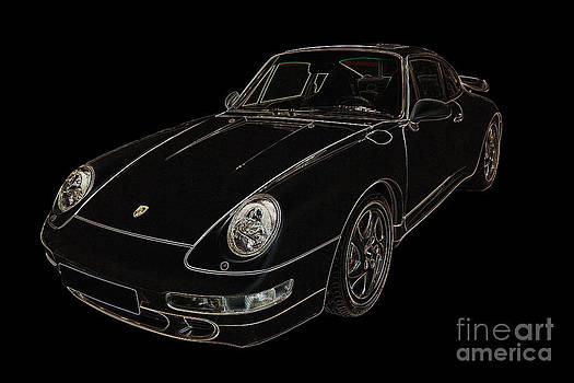 1996 Porsche 911 Turbo by John Gaffen