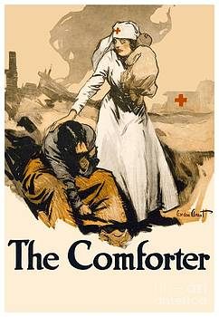1917 - Red Cross Nursing Recruiting Poster - World War One - Color by John Madison