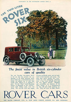 1920s Uk Rover Magazine Advert by The Advertising Archives