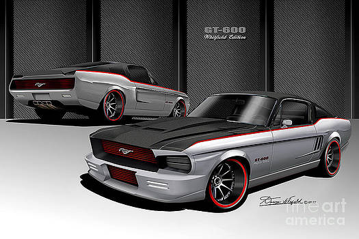 1967 Custom Mustang  Gt 600 Whitfield Edition by Danny Whitfield