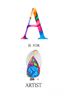 A is for Artist by Emily Lupita Studio