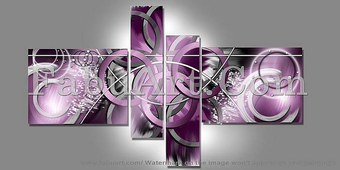 Abstract Art Painting by FabuArt