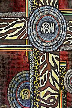 African Patterns by JAXINE Cummins