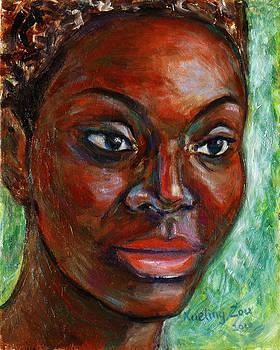 African Woman by Xueling Zou