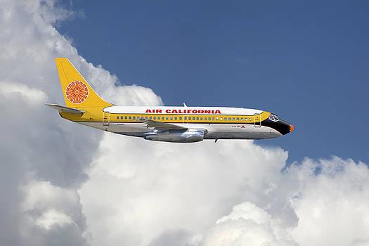 Air California Boeing 737-200 by Larry McManus
