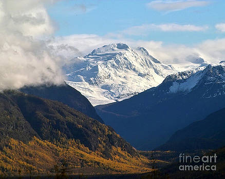 Alaska Valley in Fall by Kimberly Blom-Roemer