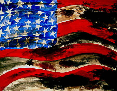 America The Beautiful by Frank B Shaner