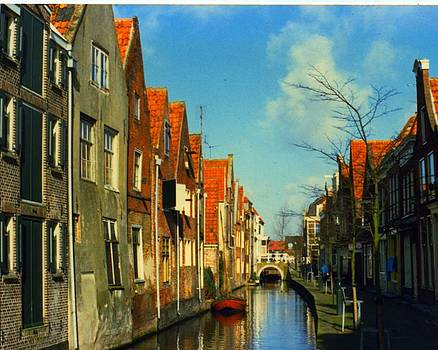 Amsterdam Canal by Jennifer Ott