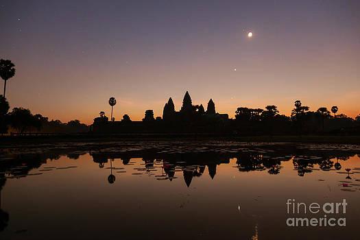 Fototrav Print - Angkor Wat at Sunrise Cambodia
