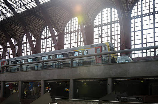 Antwerp Central Station by Paul Indigo