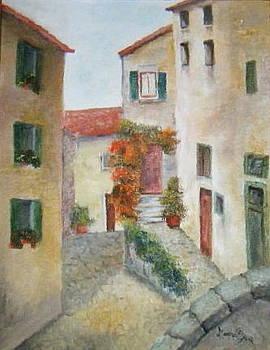Arcidossa Italy by Martha Efurd